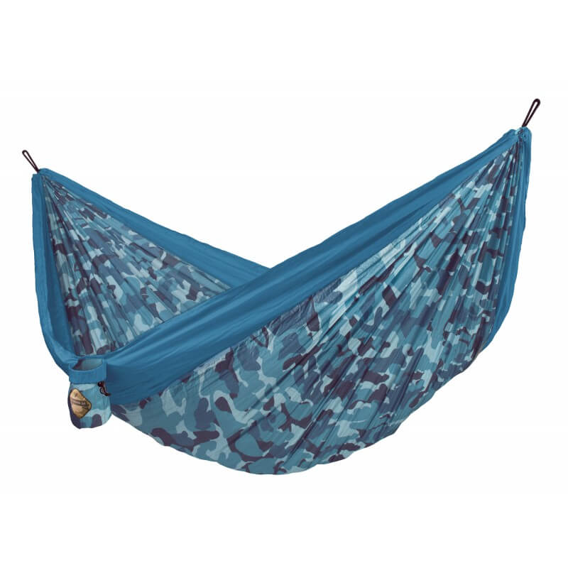 Doppel-Reisehängematte COLIBRI turquoise