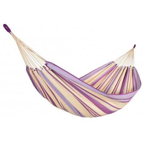 Brasilianische Single-Hängematte Provence Lavendel