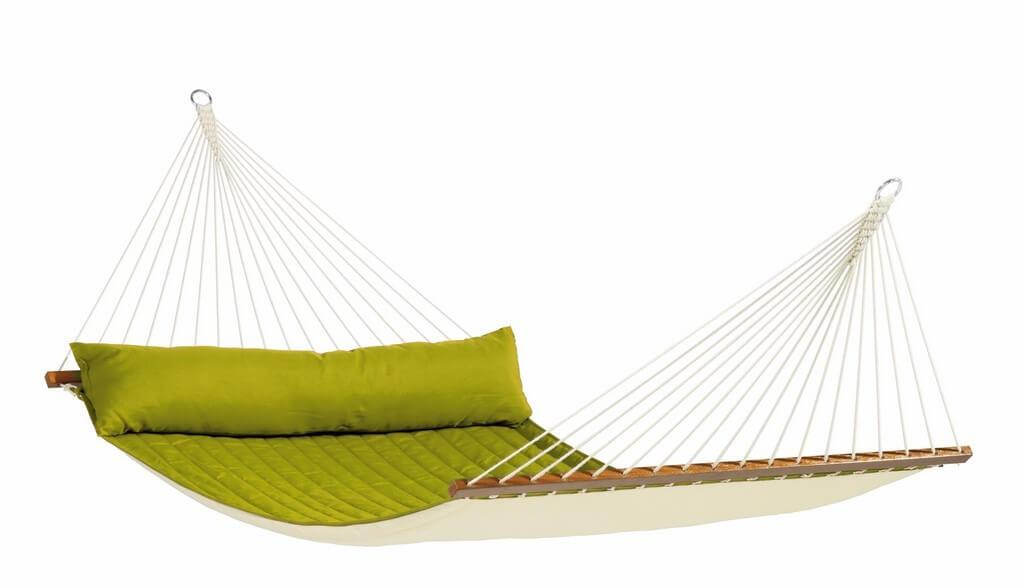 North American Style Stabhängematte Kingsize ALABAMA avocado